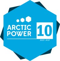 Arctic Power 10 vuotta logo